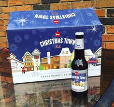 Know someone who loves beer? Gift Christmas Town Ale from Frankenmuth Brewery