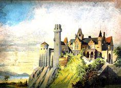 Starý hrad-pozadí