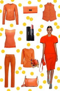 Apuesta por un look electrizante y déjate llevar por la energía del color naranja. - La Gaceta No. 98 - El Palacio de Hierro