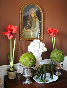 DIY Moss Spheres • Tutorials and ideas, including this one from The Graphics Fairy!
