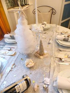 Décoration de table Nouvel an 2015 par Gabistella (1)