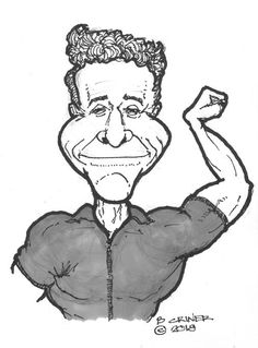 Jack Lalanne - 2018 January.  He should have done some action movies.
