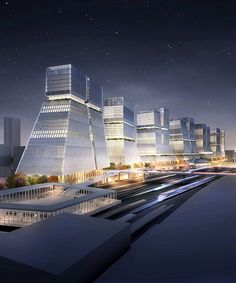 HASSELL proposes masterplan for tokyo's long lost rail yards