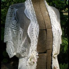 Reduced Price! 80s Vintage Lace Jacket Gorgeous ivory lace jacket from the 80s, only worn twice! Jackets & Coats