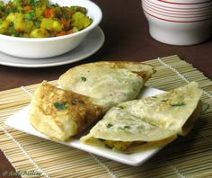 Kids Lunch Box: Veggie Dosa Triangles | RedChillies