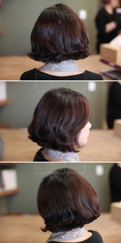 #oligodang #cosmetic #makeup #hair #K-beauty 올리고당 메이크업 단발헤어스타일 단발펌