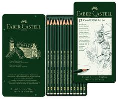 Best Drawing Pencils for Professionals and Beginners Who Love to SketchFaber-Castell is a German brand known for high-quality art supplies, and the Faber-Castell 9000 Graphite Sketch pencils are no exception. The brand makes sets with a variety of grades included or you can purchase single packs of pencils in each grade. Known for their consistency and durability, they sharpen easily and don't often break. Plus, Faber-Castell's handy tin makes the pencils highly portable.