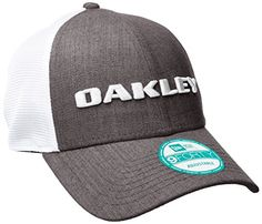 Oakley Mens Heather New Era Hat Graphite One Size * You can find more details by visiting the image link. Note:It is Affiliate Link to Amazon.