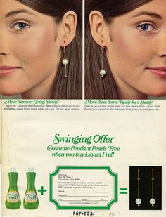 Prell Shampoo 1967