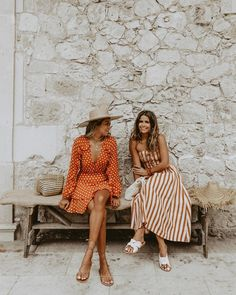 Julie Sariñana and Sara Escudero Spring Look, Spring Summer Fashion, Spring Outfits, Trendy Outfits, Fashion Outfits, Cute Date Outfits, Spring Wear, Fashion Hair, Baby Outfits