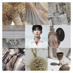"""""""Chanyeol // son of Athena"""" by hitthisfeeling ❤ liked on Polyvore featuring art, EXO and aesthetic"""