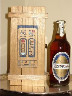 Tutankhamun ale. Discovered recipe in an ancient egyptian pyramid.
