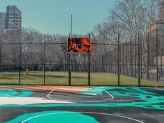 New York Basketball Courts