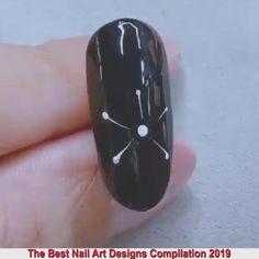 Nail Art Designs Videos, Nail Art Videos, Best Nail Art Designs, Acrylic Nail Designs, Nail Art Hacks, Nail Art Diy, Easy Nail Art, Cool Nail Art, Nagellack Design