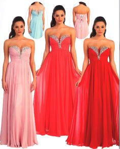 Prom Dresses Evening Dresses under $200<BR>8693<BR>Strapless sweetheart neckline gown with back lace up.