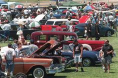 Thousands come to the California Oaks Sports Park in Murrieta each year for the Father's Day Car Show
