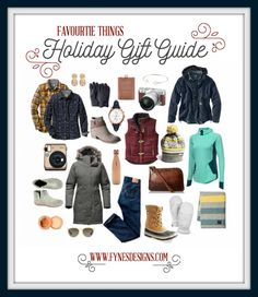 Favorite Things- Women's Christmas Gift Ideas