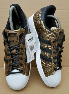 quality design a0cad fe54e   RARE   BNIB GENUINE ADIDAS SUPERSTAR TRAINERS WHITE AND MET GOLD SIZE 9  UK in Clothes, Shoes   Accessories, Men s Shoes, Trainers   eBay!