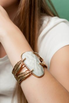 White Winged Dove Bracelet