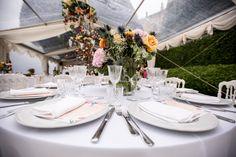 Table centerpise Villa Balbianello