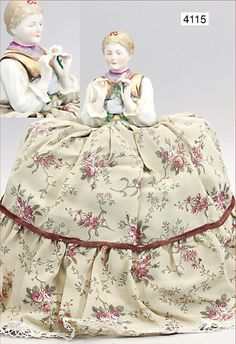 unusual tea-doll, girl in traditional costume, 1 love test (he loves me, he loves me not), good condition, unusual