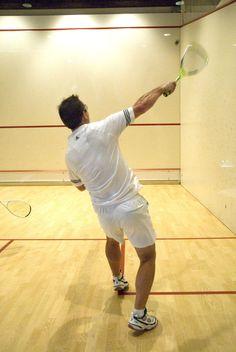 An invigorating game of squash at the Sports Pavilion #Kiawah http://www.kiawah.com