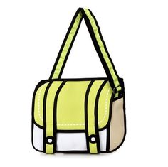 New Fashion 2D Bags Novelty Back To School Bag 3D Drawing Cartoon Paper Comic Handbag Women Shoulder Bag Messenger 5 Color Gift