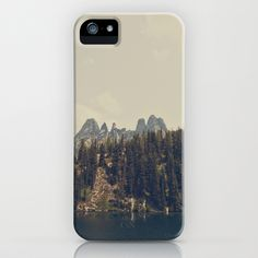Mountain Blue iPhone Case