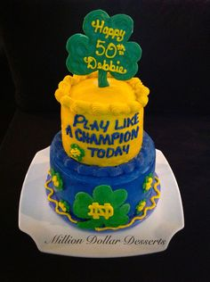 Notre Dame Cake @Susan Williams Keith can u attempt this for Ray's 25th? It would make his whole year!