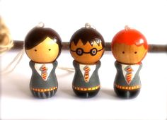 We all need a set: Harry Potter ornaments