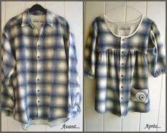 Eski gömlekleri atmıyoruz. Ne mi yapıyoruz. Eski gömlekten elbise yapıyoruz. Eşinize ait, size ait gömleklerden yepyeni elbiseler yapıyoruz. Sıcak havalard