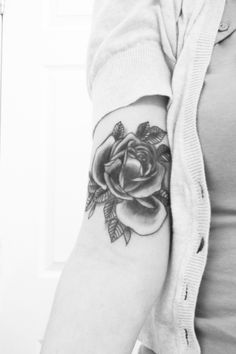 GORGEOUS rose! I would prefer a different placement though.