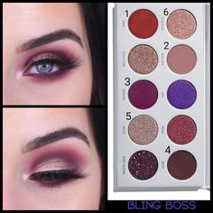 Gorgeous Makeup: Tips and Tricks With Eye Makeup and Eyeshadow – Makeup Design Ideas Makeup Eye Looks, Eyeshadow Looks, Skin Makeup, Eyeshadow Makeup, Eyeshadow Palette, Beauty Makeup, Jaclyn Hill Palette, Jacklyn Hill Palette Looks, Gorgeous Makeup