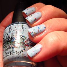 Cool Franken by Nailin' It. She has instructions on how to make this on her blog.