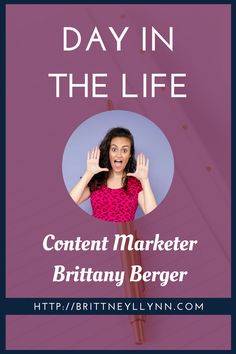 Day in the Life: Content Marketer Brittany Berger | Ever wonder what a typical day is like for a content marketer? Now's your chance! In today's Day in the Life series, Brittany Berger shares the ins and outs of being a unicorn content marketer, from start to finish. Enjoy!