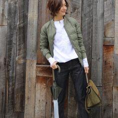 #outfit #denim #HAUNTdaikanyama by yoshikotomioka