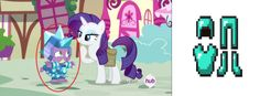 I see they play Minecraft in Equestria