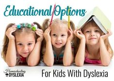 Educational Option for Kids With Dyslexia Teaching Tips, Teaching Reading, Reading Assessment, How To Teach Kids, How To Start Homeschooling, History For Kids, Learning Disabilities, Dyslexia, Home Schooling