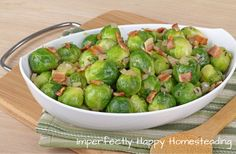 Instant Pot Brussels Sprouts in 3 Minutes!