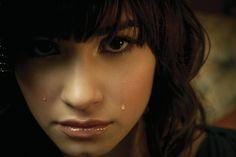 Demi Lovato Tears 4K Free Desktop Wallpaper, Wallpaper Backgrounds, Wallpaper Downloads, Demi Lovato Background, High Resolution Wallpapers, Celebrity Wallpapers, Photoshop, Hollywood, Celebrities