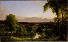 View on the Catskill - Early Autumn (Thomas Cole).