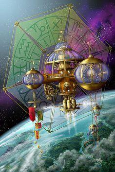 """Stars:  """"Bubble #Telescope,"""" by Ciro Marchetti."""
