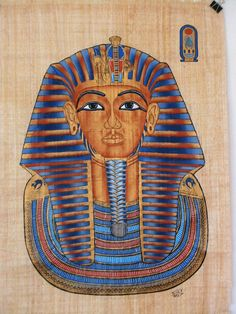 Egyptian Painting - King Tut
