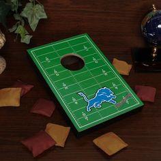 #fanatics Detroit Lions Tabletop Football Bean Bag Toss Game