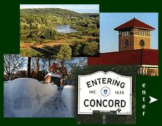 Concord, MA is one of my favorite towns, beautiful old homes, famous authors, and loaded with history.