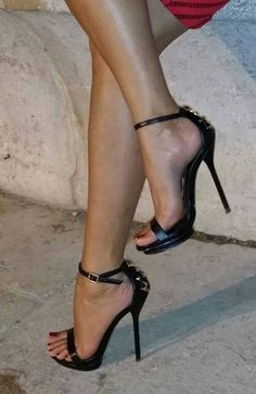 Sexy Stilettos for men & women in small & large sizes. Boots & Shoes available in UK size 3 to Wide selection of colours & styles. Buy sexy shoes here. Hot Heels, Sexy Legs And Heels, Open Toe High Heels, Black High Heels, High Heel Boots, Stilettos, Stiletto Heels, Strappy Heels, Pumps Heels