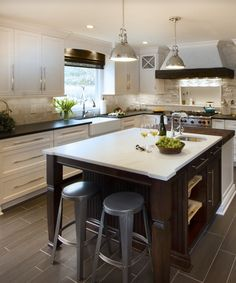 The Design Concept Features Dal Tile Alpine White Granite With A Adorable Kitchen Design Concept Inspiration