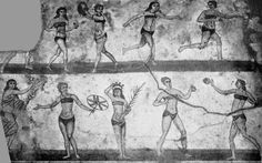 """One of the main themes of sport in Ancient Greece was the separation of the genders. A great statesman of Greece wrote on the female gender saying that """"Fame will be great..for the woman whose reputation for excellence or blame is least known among males."""" Instead of encouraging females to participate & attend athletic events, women were extremely discouraged to participate in sports & extreme laws were in effect to stop women from attending the Olympics."""