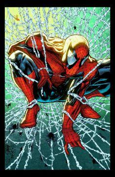 Comic Book Characters, Marvel Characters, Comic Character, Comic Books Art, Comic Art, Spiderman Tattoo, Spiderman 1, Marvel Comics Superheroes, Marvel Heroes