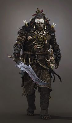 """Sair da frente... Ghulir fala pouco seu idioma na boca. Ghulir fala seu idioma na espada. E espada quer falar AGORA!"""